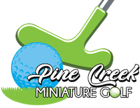 Pine Creek Miniature Golf Logo